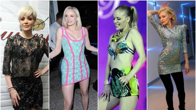 Evo kako je izgledala Rozga: Od glazbenog debija do kraljice estrade, haljine su joj najdraže
