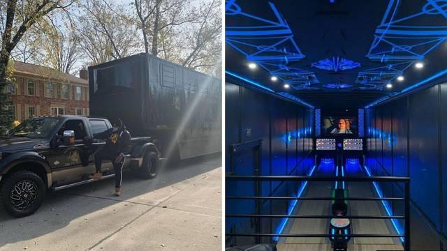 Pretvorio prikolicu od kamiona u 1. mobilnu kuglanu na svijetu