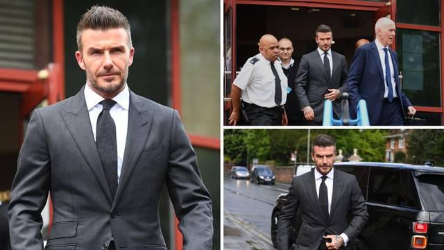 Beckhamu su oduzeli vozačku i mora platiti 6450 kuna kazne
