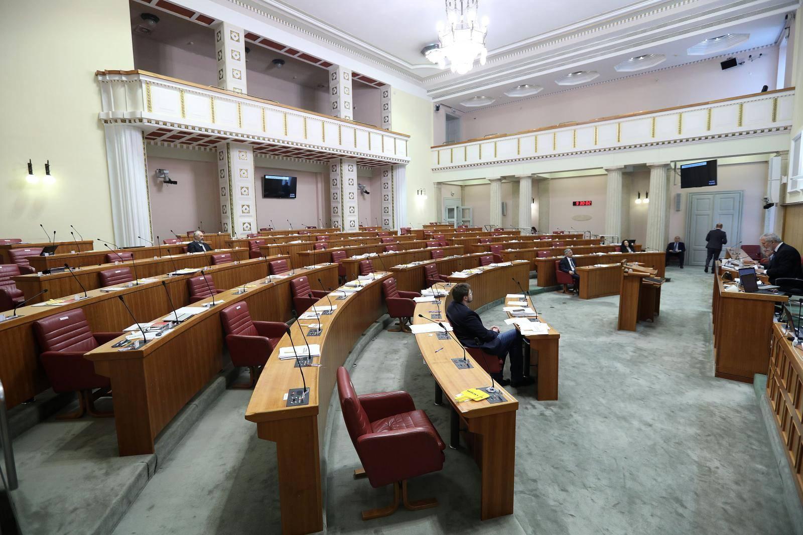 Zagreb: Sjednica sabora započela izjašnjavanjem o podnesenim amandmanima