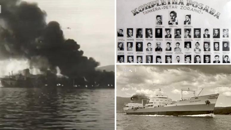 Zadarski tanker se spasio, no u Bosporu je 1960. 'Petar Zoranić' potonuo. Poginuo je 21 mornar