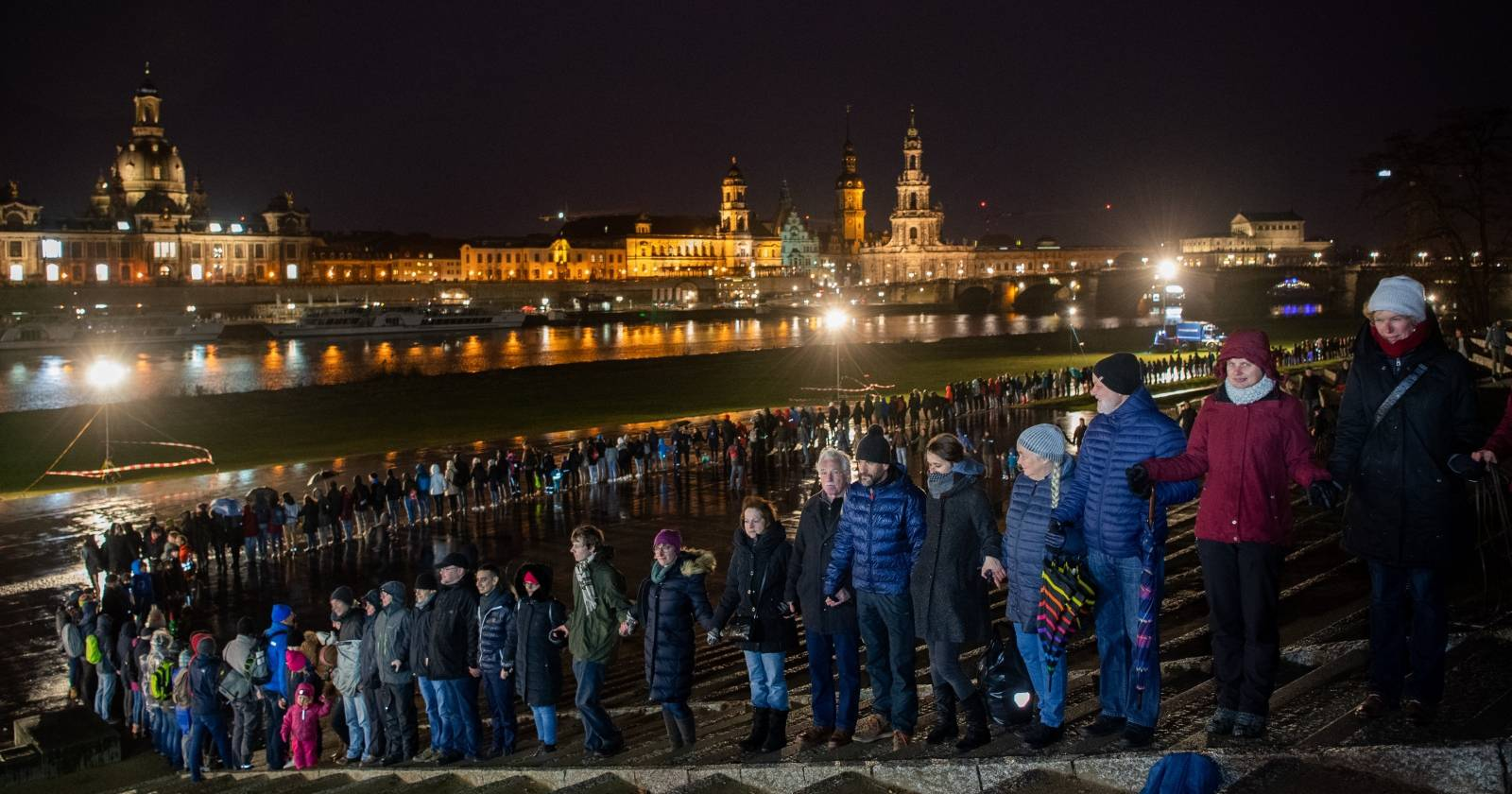75. Anniversary of the destruction of Dresden