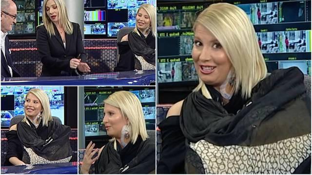 Voditeljica Dea Đurđević uživo u emisiji progovorila o nesreći