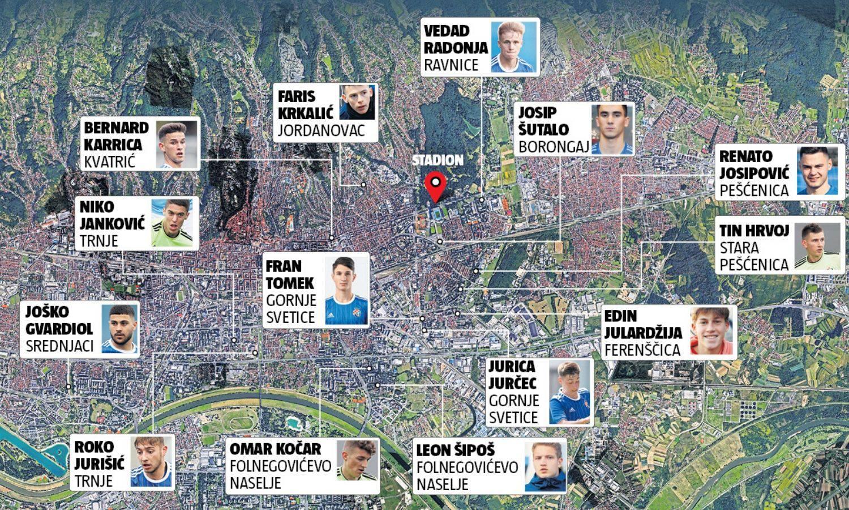 Ovo je pravi purgerski Dinamo: 'Ma mi smo vam ZG fakini...'