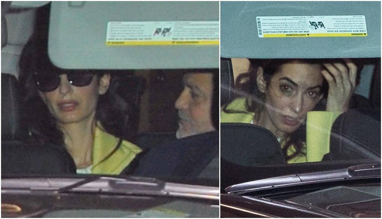 George i Amal Clooney viđeni u 'okršaju' u garaži u New Yorku