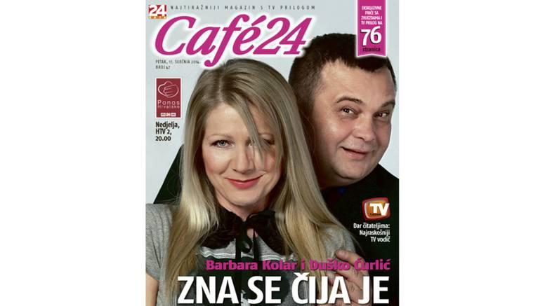 Barbara Kolar i Duško Ćurlić otvoreno u novom  broju Cafe24