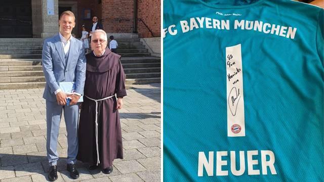 Neuer iznenadio fratra Hrvata u Münchenu: Dao mu je svoj dres