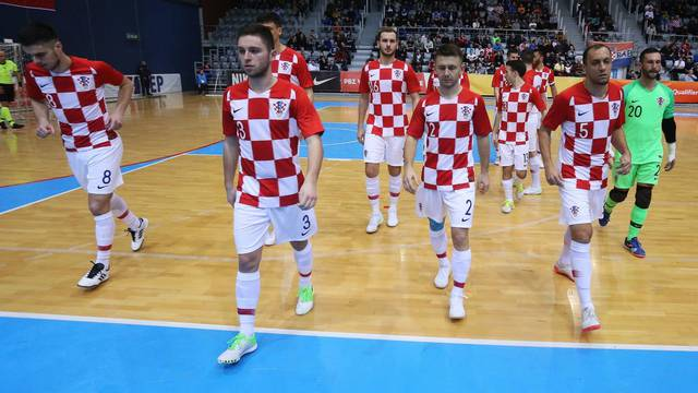 Osijek: Elitno kolo kvalifikacija za Svjetsko prvenstvo u futsalu: Hrvatska - Azerbajdžan