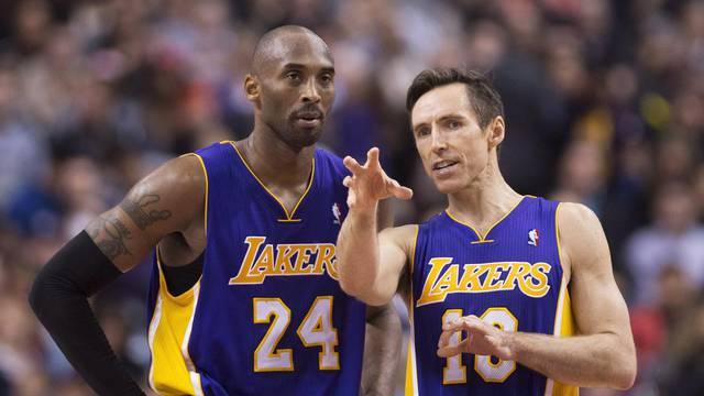 Kobe Bryant, Steve Nash