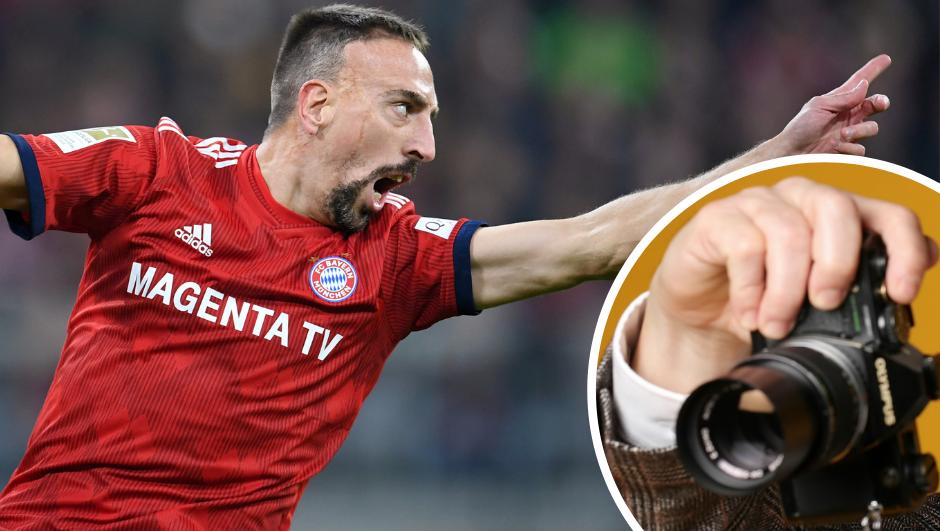 Novi Riberyjev skandal: Napao je fotografa ispred stadiona