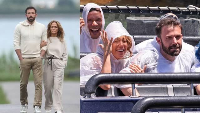 J.Lo i Ben Affleck odveli djecu u zabavni park pa se provozali