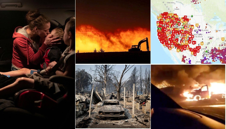 Pa pola Amerike gori! Stravične snimke prikazuju neviđeni užas