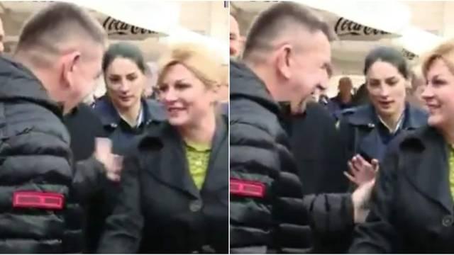 Kolindina čuvarica: Htio ju je potapšati, ali ona ga spriječila!