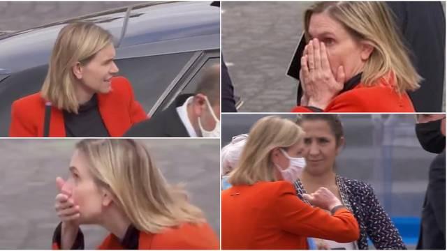 Gdje mi je maska? Francuska političarka dignula paniku i pojurila za službenim autom