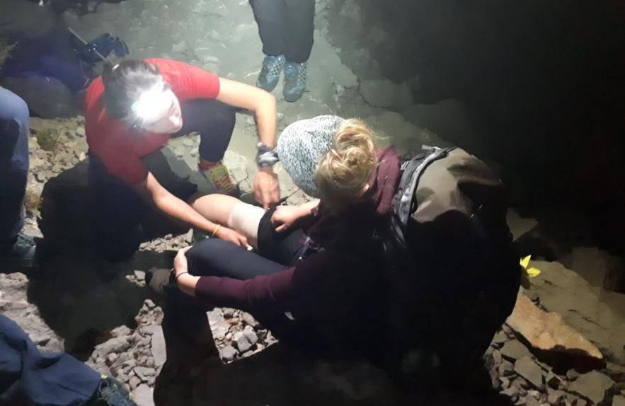 GSS-ovci su spasili Njemice na Velebitu: Jedna ozlijedila glavu