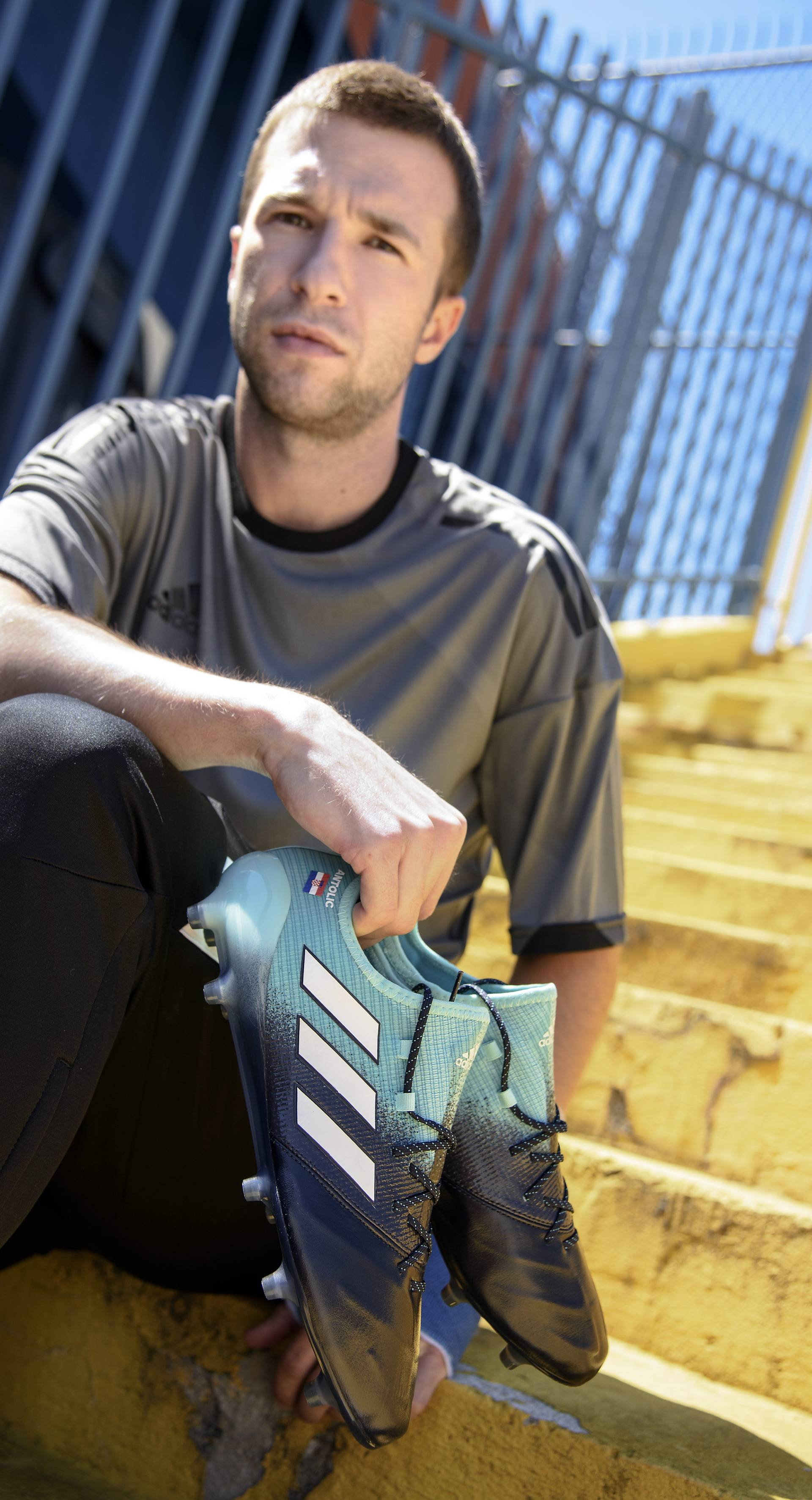 Igrači Dinama predstavili adidas Ocean Storm kopačke