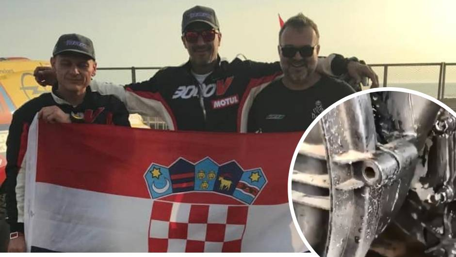 Kakva drama hrvatske posade na Dakru! Stali 50 km od cilja