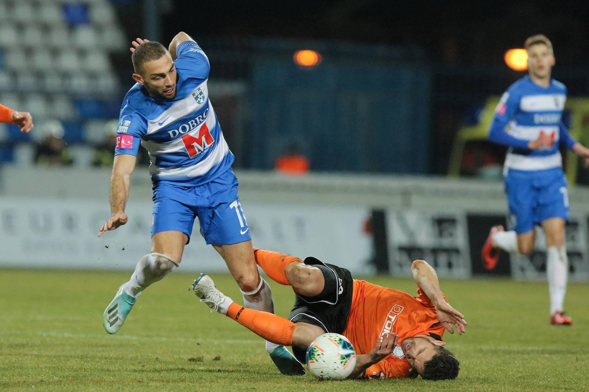 Osijek: NK Osijek protiv NK Varaždin u 26. kolu Prve HNL