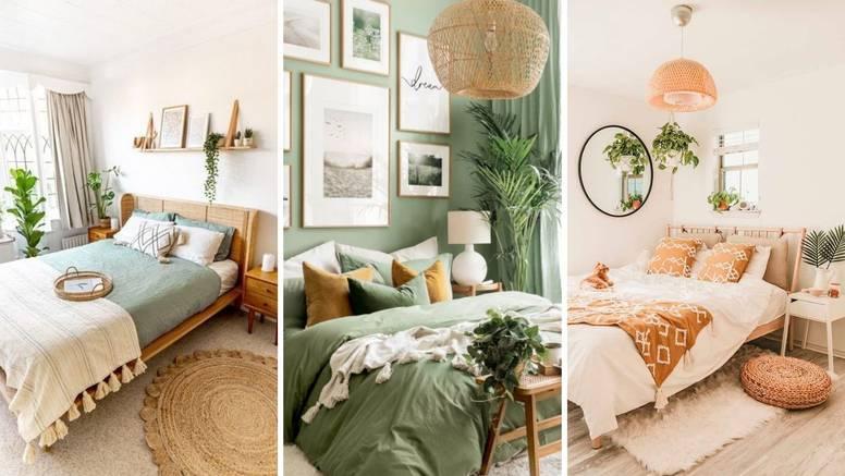 15 ideja za boho spavaću sobu