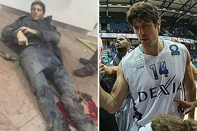Fotografija koja je obišla svijet: Ranjeni muškarac je - košarkaš