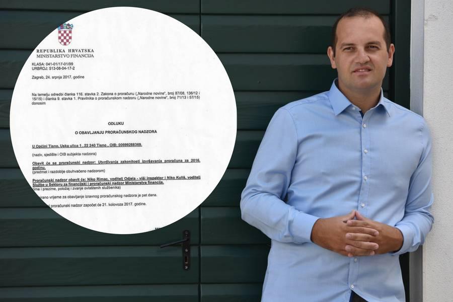 Prozvao ministra Marića pa mu je došla financijska inspekcija