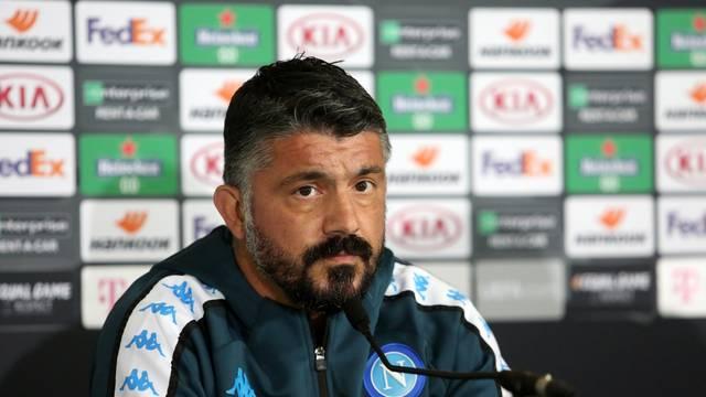 Rijeka: Konferencija za medije Napolija uoči utakmice protiv Rijeke u Europskoj ligi