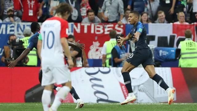 SP 2018, Francuska - Hrvatska