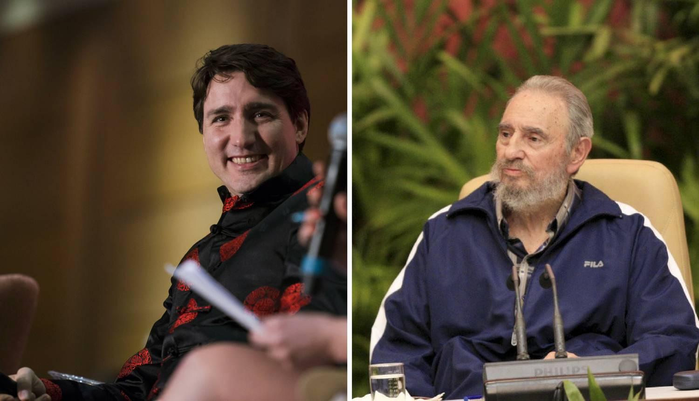 Ima neka tajna veza: 'Otac Trudeaua nije Fidel Castro...'