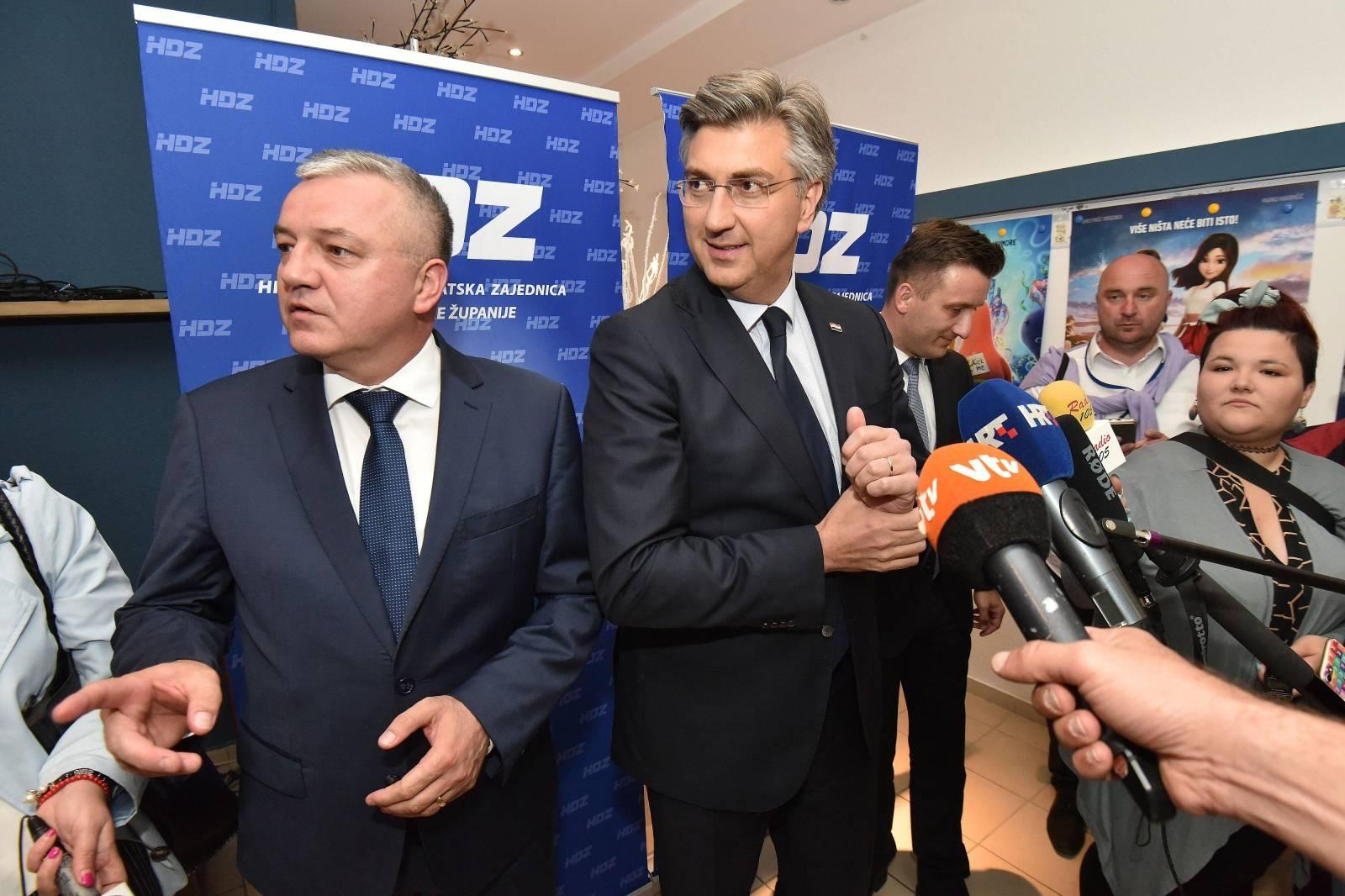 Predsjednik Vlade Andrej Plenković sudjelovao na sjednici HDZ-a Međimurske županije