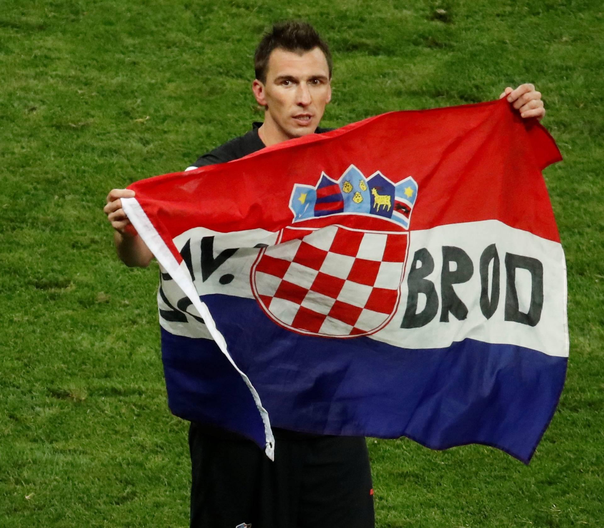 World Cup - Semi Final -  Croatia v England