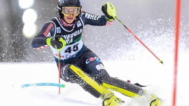 Zagreb: Prva vožnja ženskog slaloma Audi FIS Svjetskog skijaškog kupa