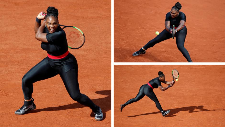 Serena se vratila pa izazvala šok noseći novu usku opremu...