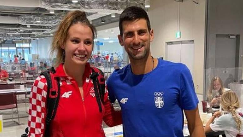 Zlatna Matea uslikala se s Đokovićem i uz fotku ostavila poruku koja je oduševila Srbiju