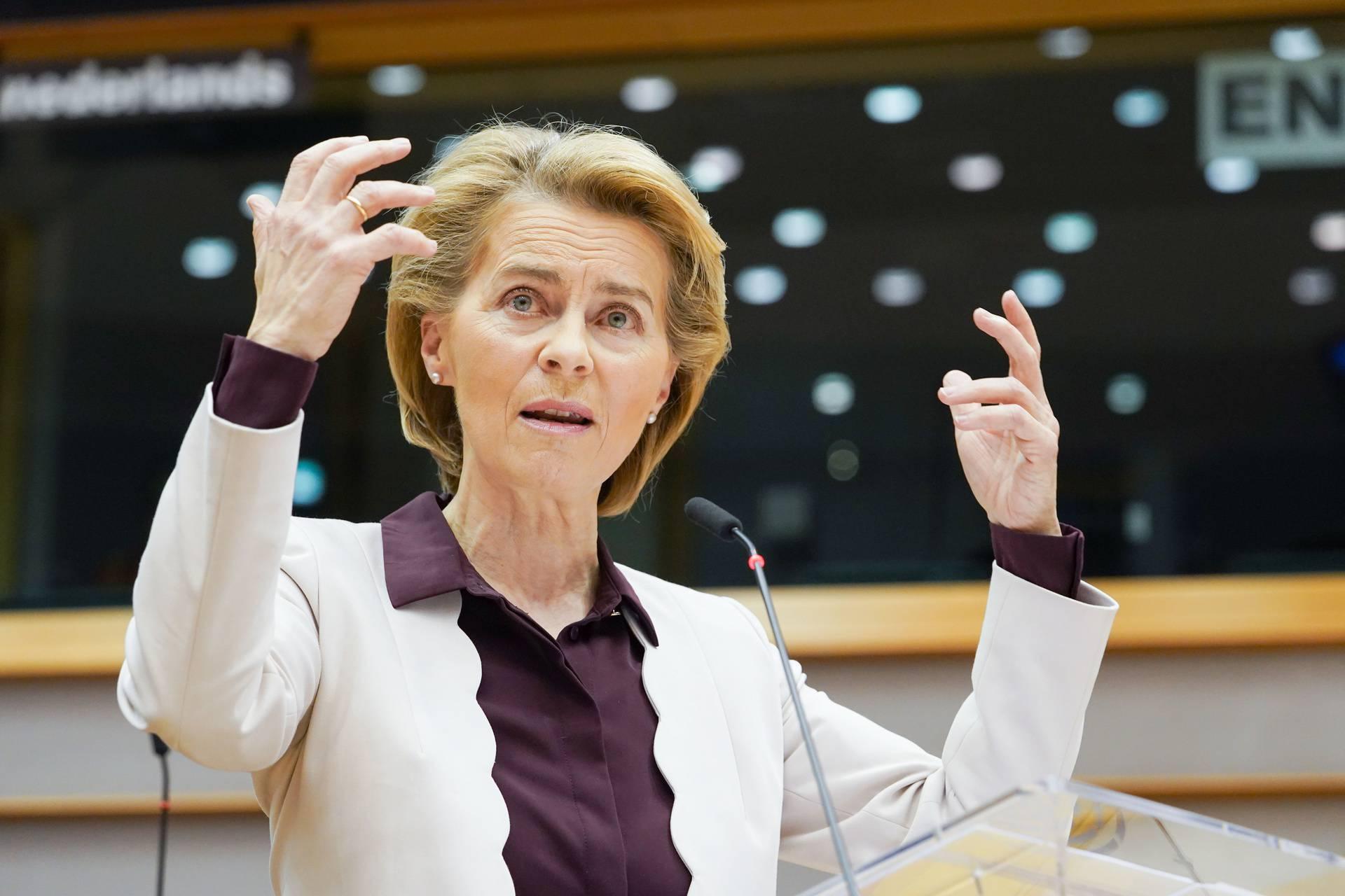 BELGIUM-BRUSSELS-EUROPEAN PARLIAMENT-BUDGET-VOTE