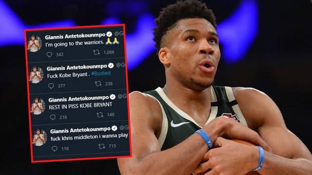 Giannis iznenadio navijače pa je objasnio: Profili su hakirani!