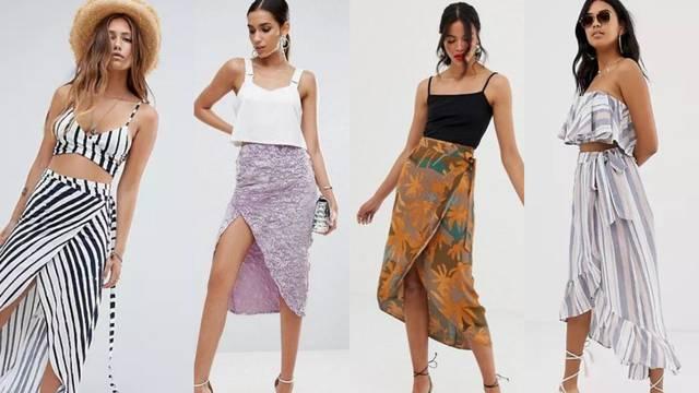 Sarong suknja, simbol morske garderobe, super funkcionira i kao dio urbanih kombinacija