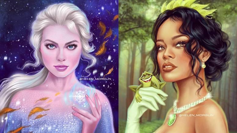 Pretvara ih u Disney princeze: Margot Robbie je identična Elsi