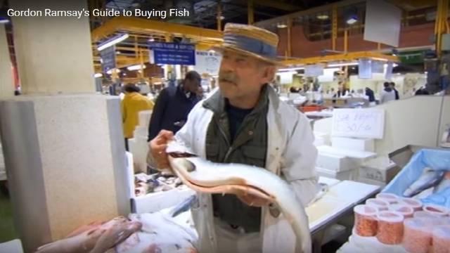 Vodič Gordona Ramsaya kako izabrati najbolju ribu na tržnici