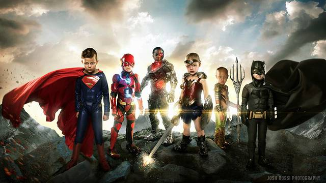 Fotograf teško bolesnu djecu pretvara u superheroje - divno
