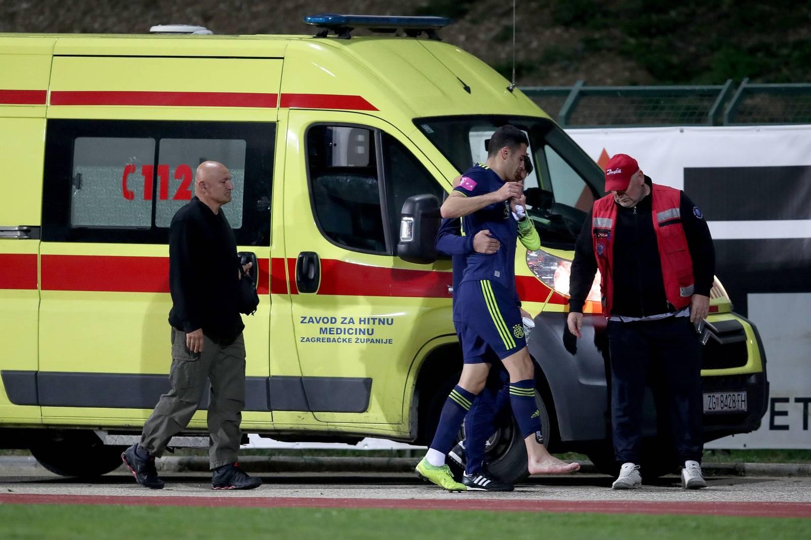 Velika Gorica: Sandro Kulenovic zbog ozlijede napustio utakmicu s Goricom