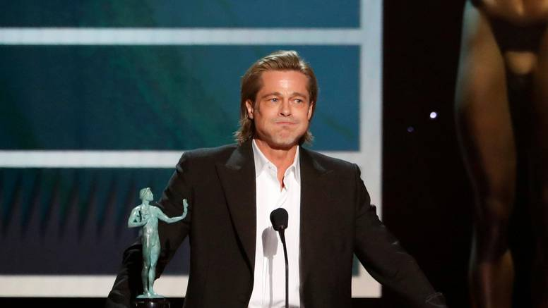 Brad Pitt sve nasmijao: 'Fotku s dodjele objavit ću na Tinder'