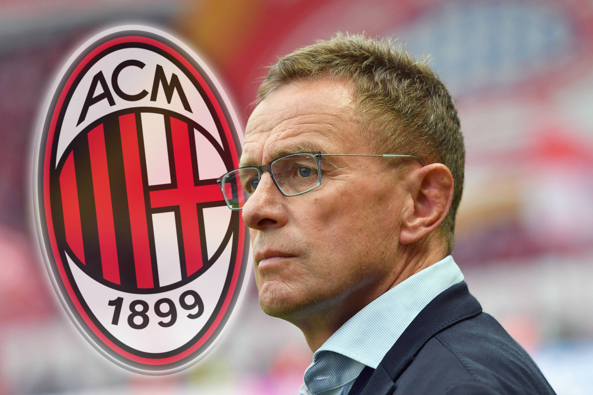 According to media report: Rangnick should become coach and sports director at AC Milan.