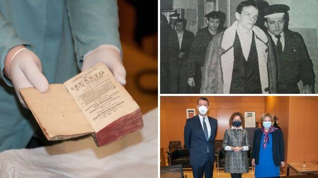 U Zagreb vraćena knjiga koju je ukrao najčudniji hrvatski lopov iz slavne zagrebačke obitelji