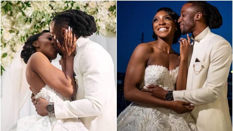 Prvi put su se poljubili na svom vjenčanju - nakon 3 godine veze