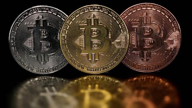 FILE PHOTO: Illustration of Bitcoin