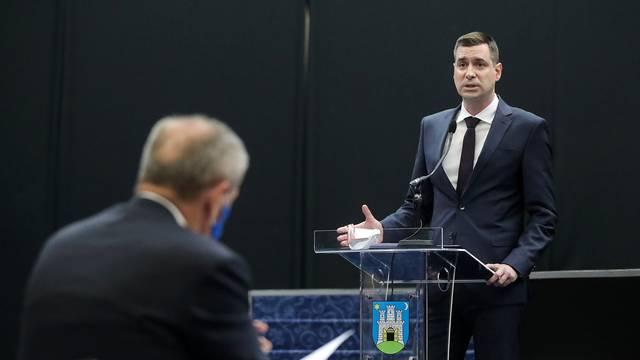 Zagreb: Herman zamijenio Prgometa na mjestu predsjednika zagrebačke Skupštine
