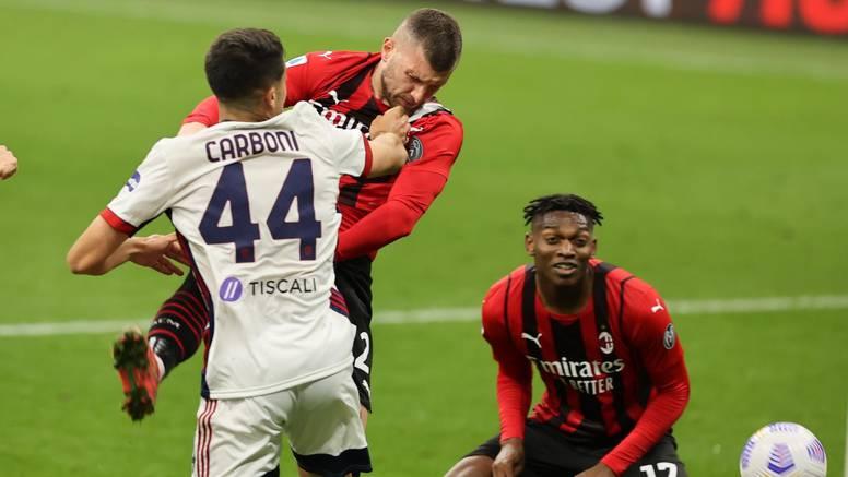 Milan je razočarao: Propustio osigurati LP protiv Cagliarija