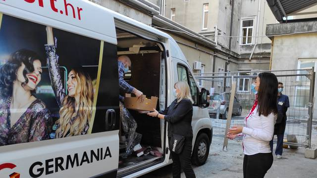 Germania donirala voće Kliničkom bolničkom centru Rijeka