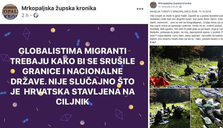 Župnik u Mrkoplju huška protiv migranata: 'Nisam odgovoran'