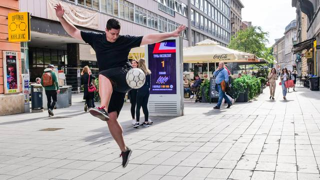 Na zagrebačkim ulicama otkrivaju se skriveni nogometni talenti! Jesi li ti novi Modrić?